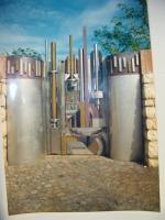 Cancello pedonale, partic. 1