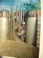 Cancello pedonale, partic. 2